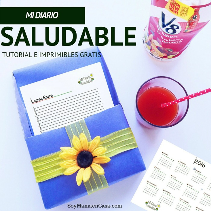 Mi Diario Saludable, tutorial e imprimibles