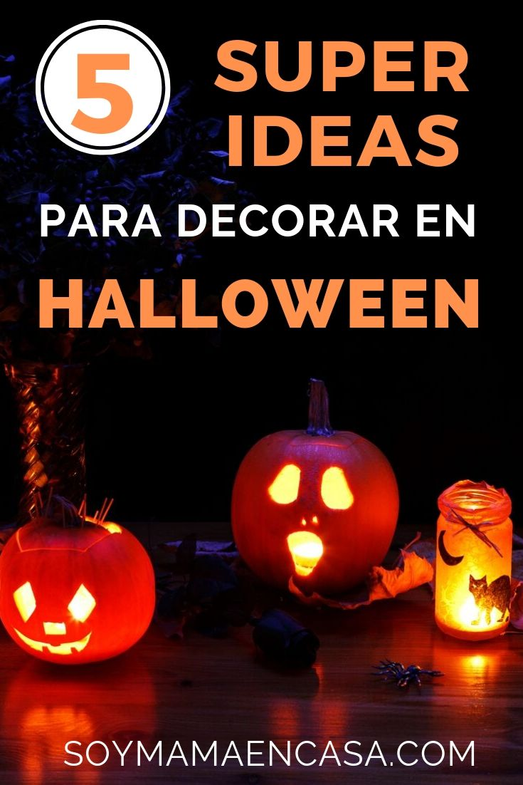 Halloween cómo decorar bonito y divertido